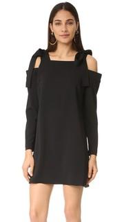 Платье с завязками Amanda Uprichard