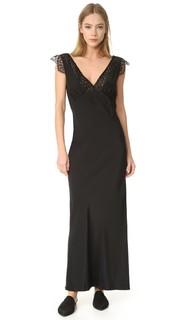 Кружевное платье с V-образным вырезом Jenni Kayne