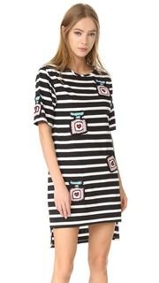 Платье-футболка свободного кроя Michaela Buerger