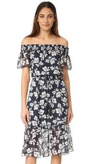 Платье с цветочным рисунком Moon River