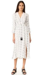 Макси-платье с принтом Moon River