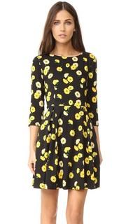 Платье-солнце с рукавами три четверти Suno