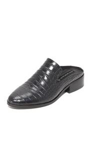 Туфли без задников Springer с тиснением под крокодила Steven