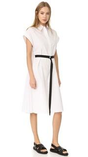 Платье-рубашка с короткими рукавами Tome