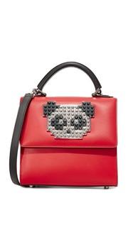 Миниатюрная сумка-портфель Alex Metal Panda les Petits Joueurs