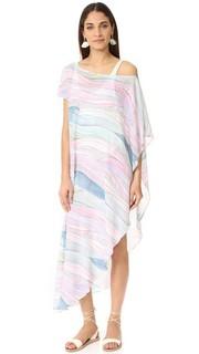 Пляжное платье с открытым плечом Mara Hoffman