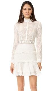 Винтажное мини-платье из органди Nicholas