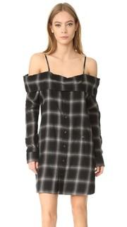 Платье-рубашка в стиле комбинации R13