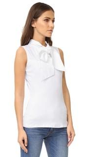 Рубашка с воротником и галстуком-бабочкой Skinnyshirt
