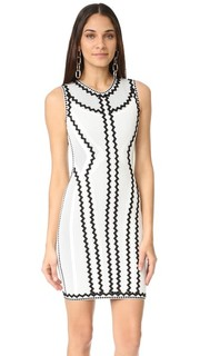 Платье Imaan с зигзагами Herve Leger