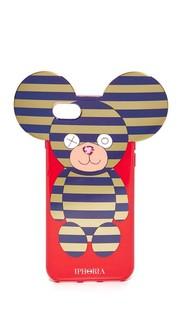 Чехол Teddy для iPhone 7 в полоску Iphoria