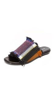 Плетеные сандалии без застежки Proenza Schouler