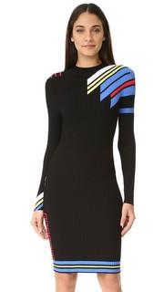 Платье с длинными рукавами Versace
