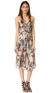 Платье со шнуровкой спереди Haute Hippie