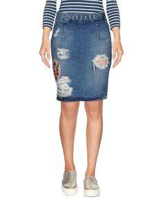 Джинсовая юбка Happiness