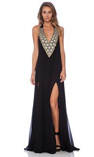 Макси платье с вышивкой - Pia Pauro