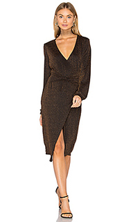 Hustle metallic knot dress - MINKPINK