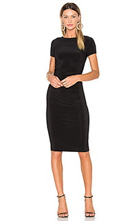 Short sleeve shirred dress - Norma Kamali