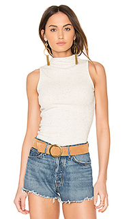 Rib funnel neck bodysuit - MINKPINK