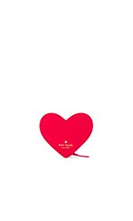 Кошелек для монет heart - kate spade new york