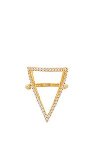 Кольцо с мозаичным вкраплением ottoman bermuda triangle - Natalie B Jewelry