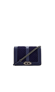 Chevron quilt small love bag - Rebecca Minkoff