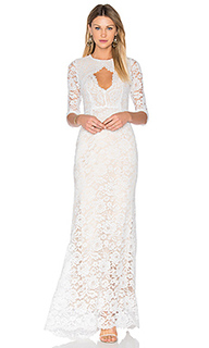 Floral lace gown - Lurelly