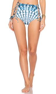 Плавки бикини на шнуровке с высоким поясом - Mara Hoffman
