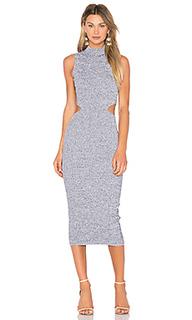 Платье миди melange - SUNO