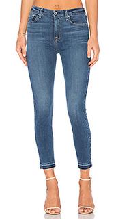 Узкие джинсы с высокой посадкой - 7 For All Mankind