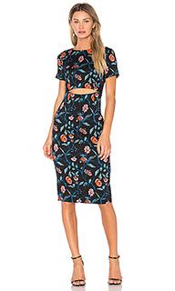 Миди-платье с вырезами - SUNO