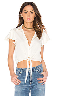 X revolve the ruffle sleeve shirt - LAcademie