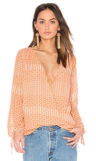 Блуза с запахом и длинным рукавом - LAcademie