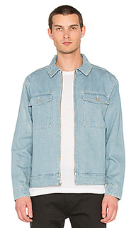 Washed denim garage jacket - Stussy