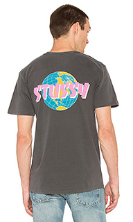 Футболка global - Stussy