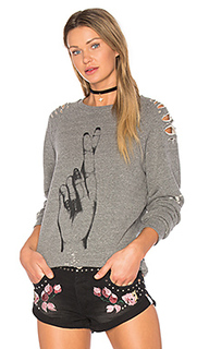 Jetta distressed pullover - Lauren Moshi