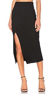 Directional rib skirt - MINKPINK