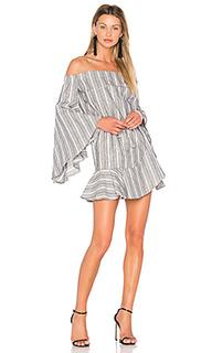 Мини-платье с открытыми плечами tortuga - Shona Joy