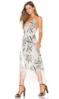 Платье с запахом zinnia - Cleobella