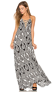 Платье со шнуровкой logan - Show Me Your Mumu