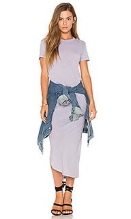 Макси платье с коротким рукавом - Stateside