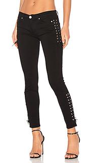 Укороченные супер узкие джинсы средней посадки suki - Hudson Jeans