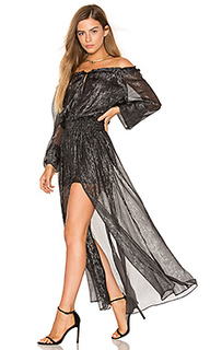 Smocked metallic dress - LoveShackFancy
