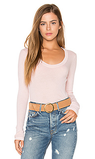 Scoop neck rib tee - Stateside