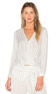 Блузка с запахом - EGREY