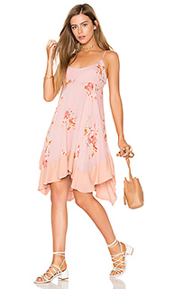 Мини платье faded bloom - Free People