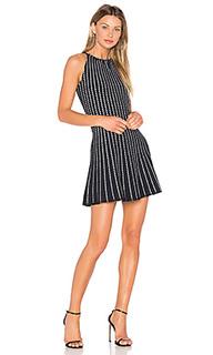 Плиссированное мини платье - EGREY