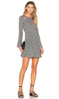 Платье с разрезами лесенкой camellia - Line & Dot