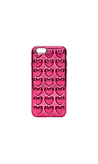 Чехол для iphone 6s metallic heart - Marc Jacobs