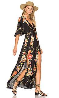 Slit maxi dress - FARM